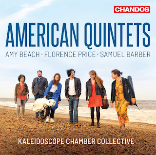 American Quintets - Beach, Barber, Price; Kaleidescope Chamber Collective; CHANDOS