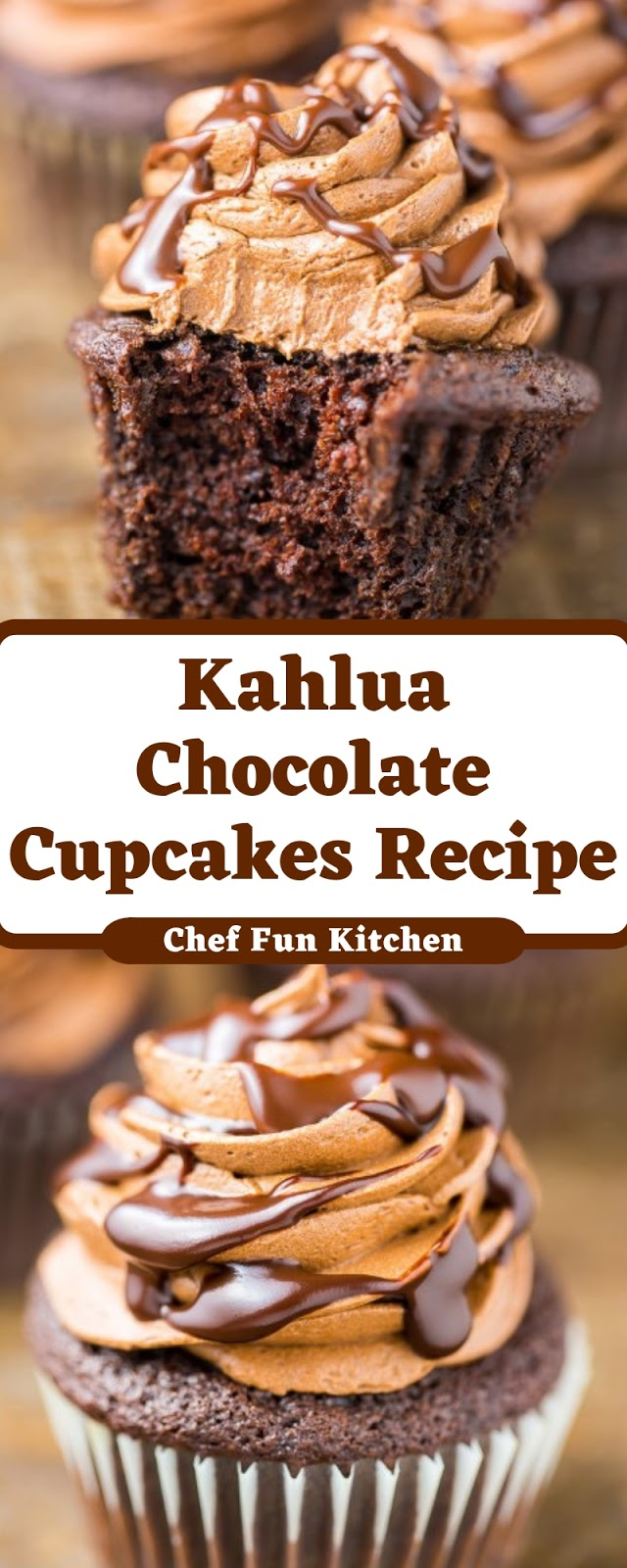 Kahlua Chocolate Cupcakes Recipe