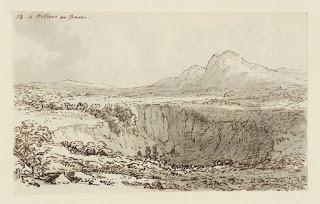 Dibujo realizado por John Constable