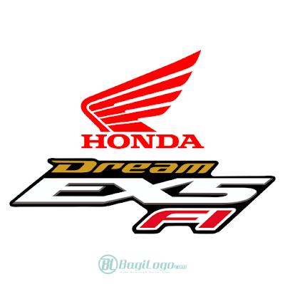 Honda Dream EX5 Logo Vector