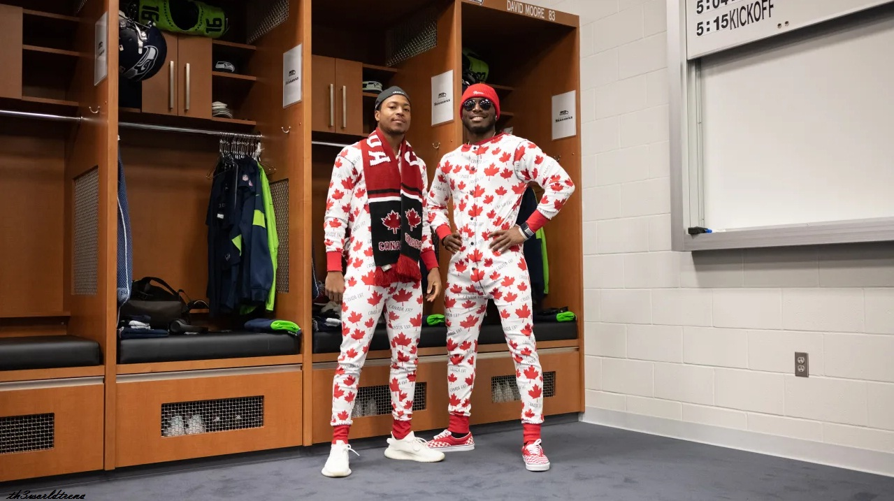 Seahawks Mailbag: Monday Night Success, Canada Onesies, Dancing Receivers & More