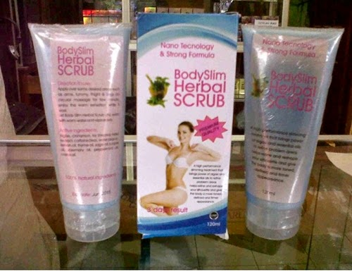 Body Slim Herbal BSH Scrub