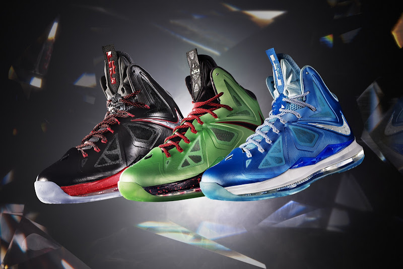 9d5563e2744 theKONGBLOG™  Nike Unveils LeBron X Collection w  3 New Colorways