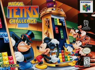 Capa do jogo Magical Tetris Challenge online N64