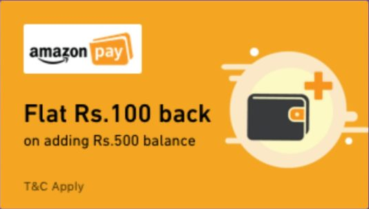 Amazon Add Money Offer banner