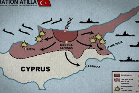 Turquía abre base de drones en Chipre