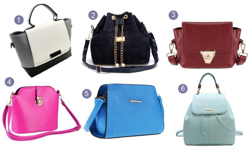 dresslink bags, dresslink purses, dressling crossby bags