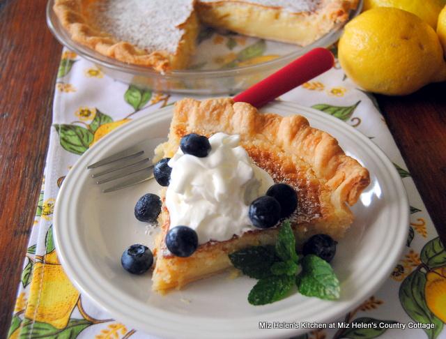 dinner Nana's Lemon Pie at Miz Helen's Country Cottage