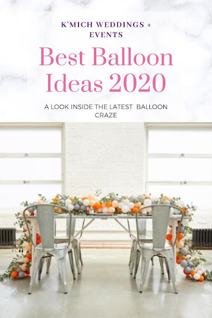 wedding ideas - wedding inspiration - balloons - K'Mich Weddings + Events Philadelphia PA