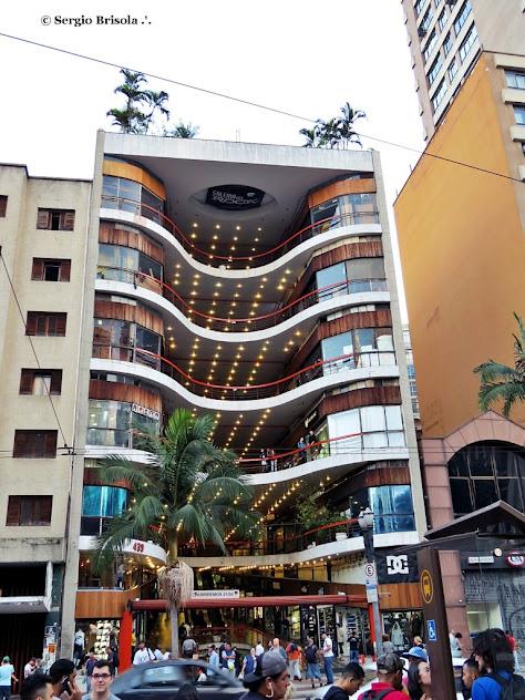 Fachada da Galeria do Rock - Centro - São Paulo