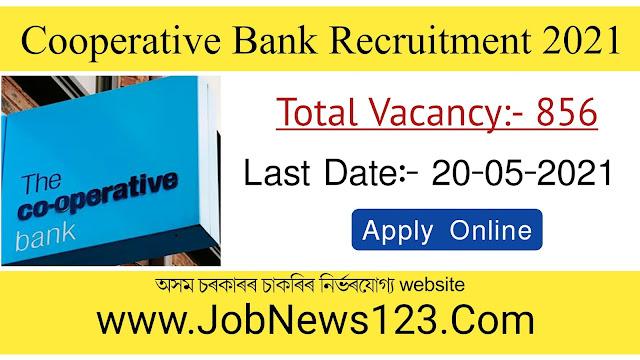 Cooperative Bank Recruitment 2021: