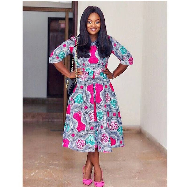Jackie Appiah Ankara styles