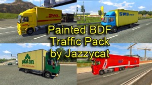 Jazzycat – Painted BDF Traffic Pack 2.7