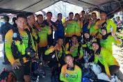 Kapolda Hadiri Langsung , 22 Penyelam Asal Polda Sulbar Ambil Bagian Pecahkan Rekor Dunia Menyelam di Manado