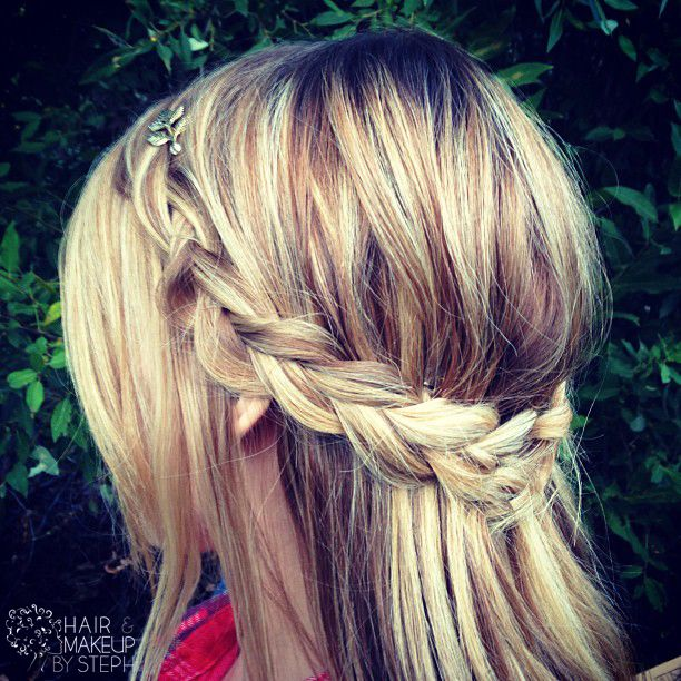 A Little Over Week Ago I Posted This Picture Of Hairstyle Did On Myself For Fall Dinner Went To