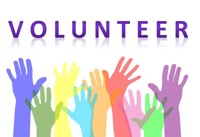 melayani dengan sukarela di gereja