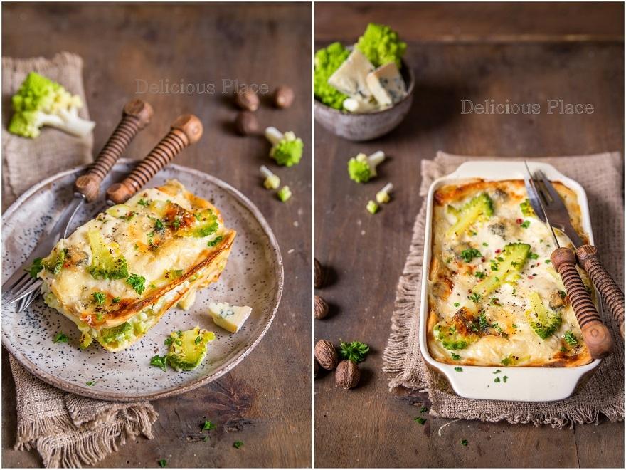 Kalafiorowa lasagne z gorgonzolą