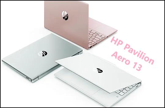 HP Pavilion Aero 13 : détails de l'ordinateur portable le plus légers.