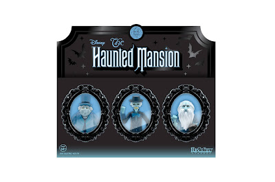 San Diego Comic-Con 2020 Exclusive Disney's Haunted Mansion Hitchhiking Ghosts ReAction Figure Set by Super7