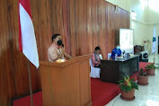 Pjs. Bupati Clay Dondokambey Beri Apresiasi Kedatangan Stafsus Presiden RI Dalam Raker DPD GAMKI
