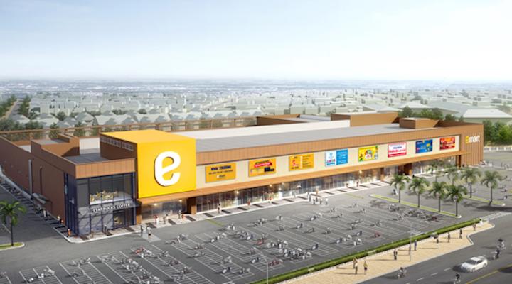 Phối cảnh thiết kế dự án siêu thị Emart Phan Văn Trị quận Gò Vấp