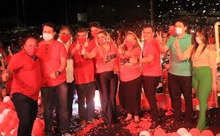 Em convenção MDB e aliados homologam chapa Roberto/Beto em Guarabira