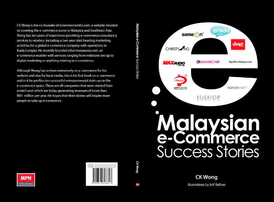 Malaysian e-Commerce Success Stories Book Cover