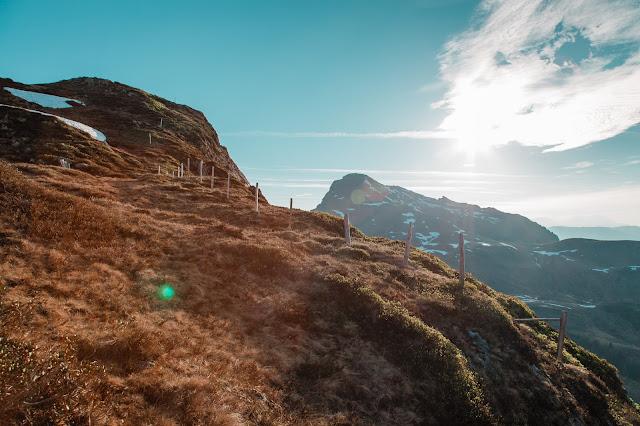 Sonnenaufgangswanderung auf den Saalkogel  Saalbach-Hinterglemm 03