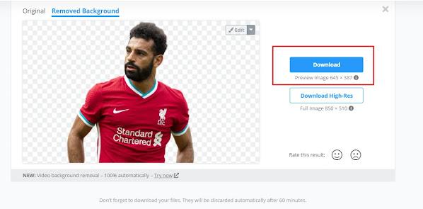 أفضل موقع مجاني لإزالة الخلفية من الصور بضغطة زر واحدة