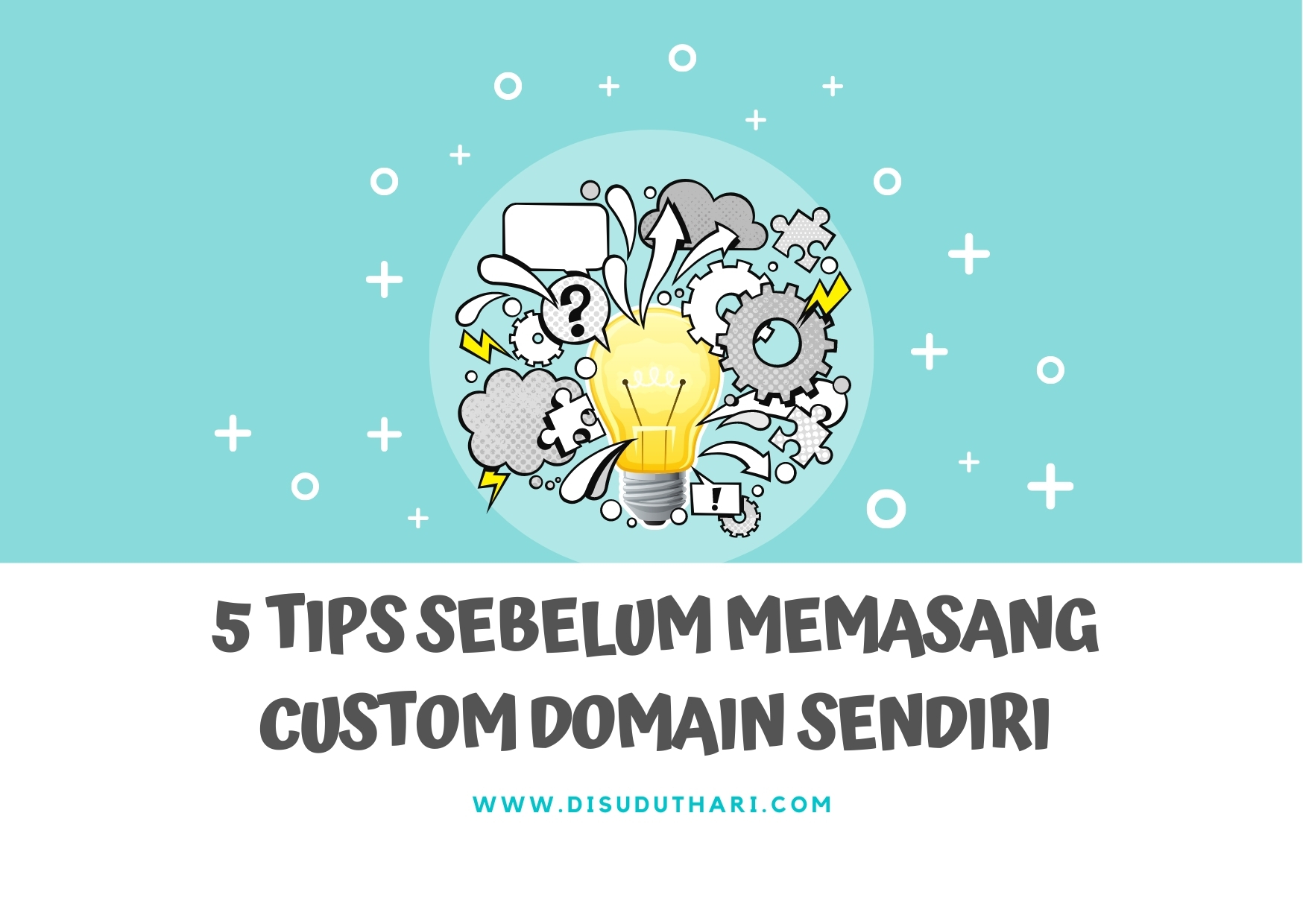 Memasang Custom Domain Sendiri