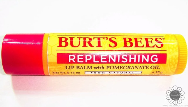 Burt`s Bees Philippines Lip Balms | Product Review and Top Picks - Replenishing Lip Balm with Pomegranate Oil - Ingredients (http://www.thegracefulmist.com/2016/10/Burts-Bees-Philippines-Natural-Lip-Balms-Products-Reviews-SampleRoomPh.html)