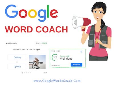 Word Coach   Google Word Coach Game
