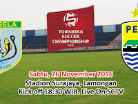 TSC 2016: Persela vs Persib