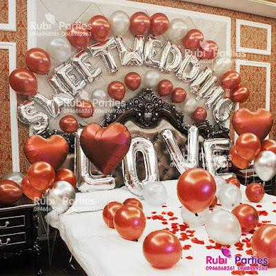 Shop bóng trang trí phòng cưới tại Hà Nội