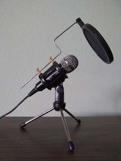 Photograph of microphone
