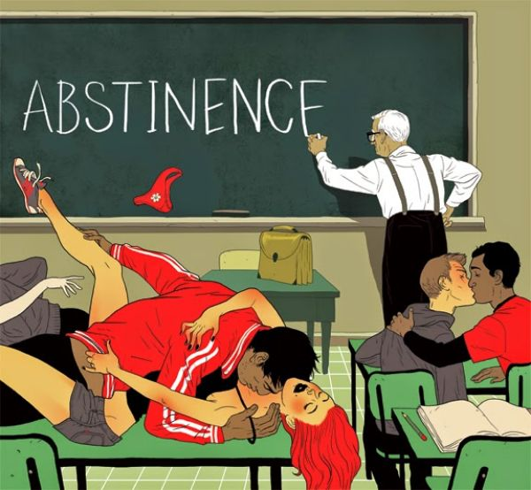 Asaf Hanuka - Illustration Design - Abstinence