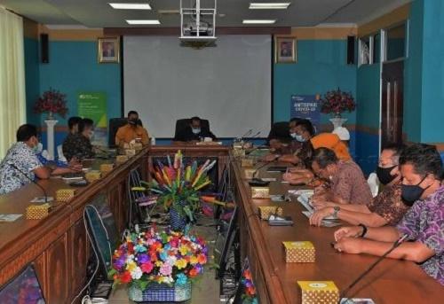 Pemkab Natuna Gelar Rakor Bersama BPJS Ketenagakerjaan, Ini yang Dibahas