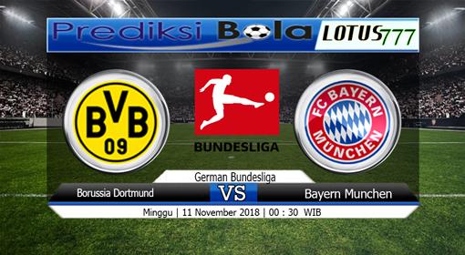 PREDIKSI SKOR Dortmund vs Bayern Munchen 11 NOVEMBER 2018