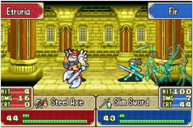 fire emblem gba gameplay