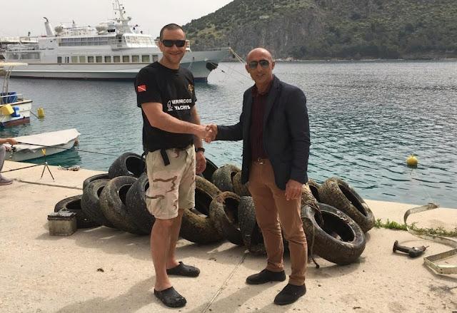 Ευχαριστήρια επιστολή Δήμου Ναυπλιέων στην ομάδα εθελοντών δυτών Loutraki Divers