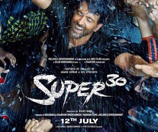 Super 30 Full Movie Download Filmyzilla