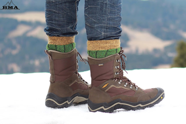 Winter Wanderschuhe von KEEN Durand Polar EU - outdoor blog - best mountain artists