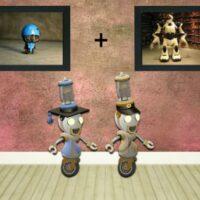 8b Evil Spring Robot Esca…