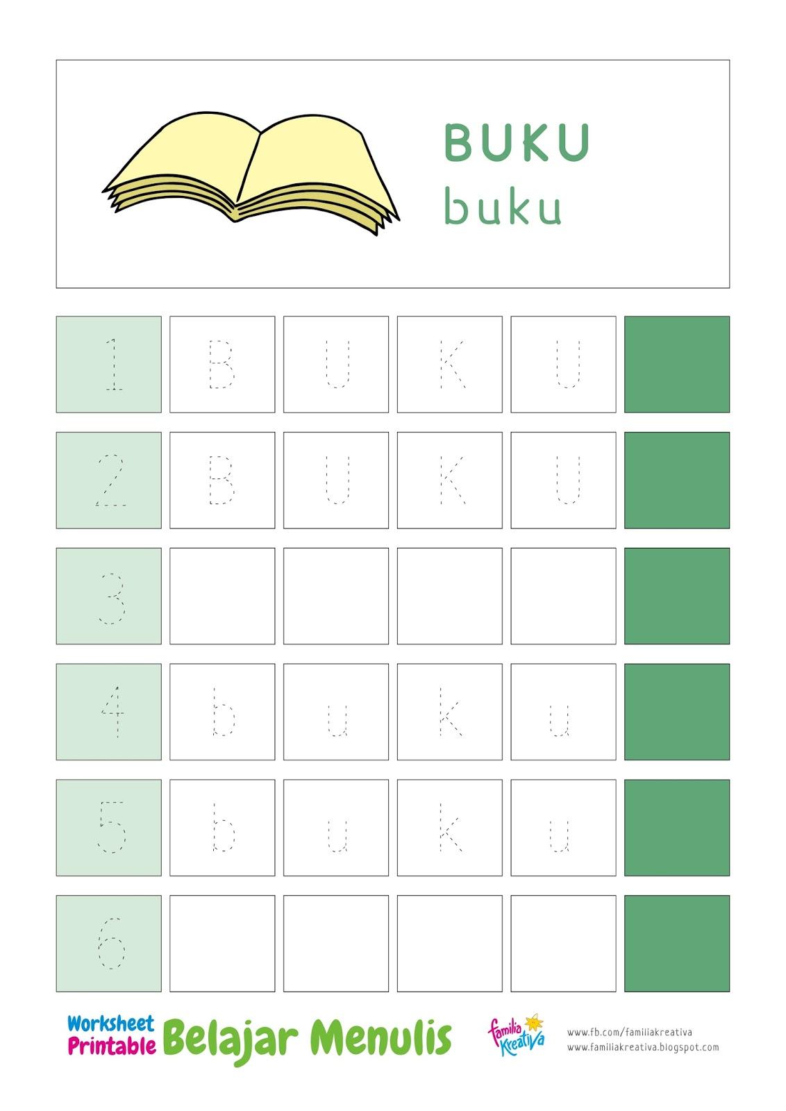 Buku Belajar Menulis Angka Untuk Anak Tk