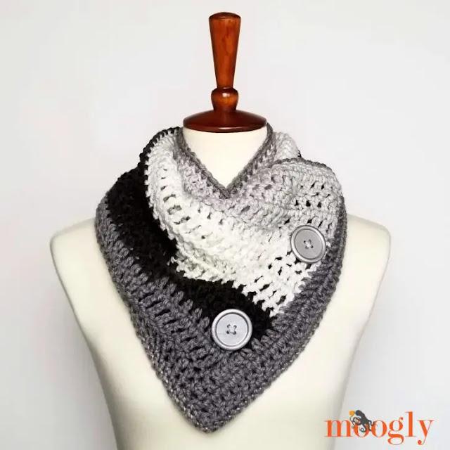 APRENDE A TEJER GRATIS Cuello Fácil a Crochet