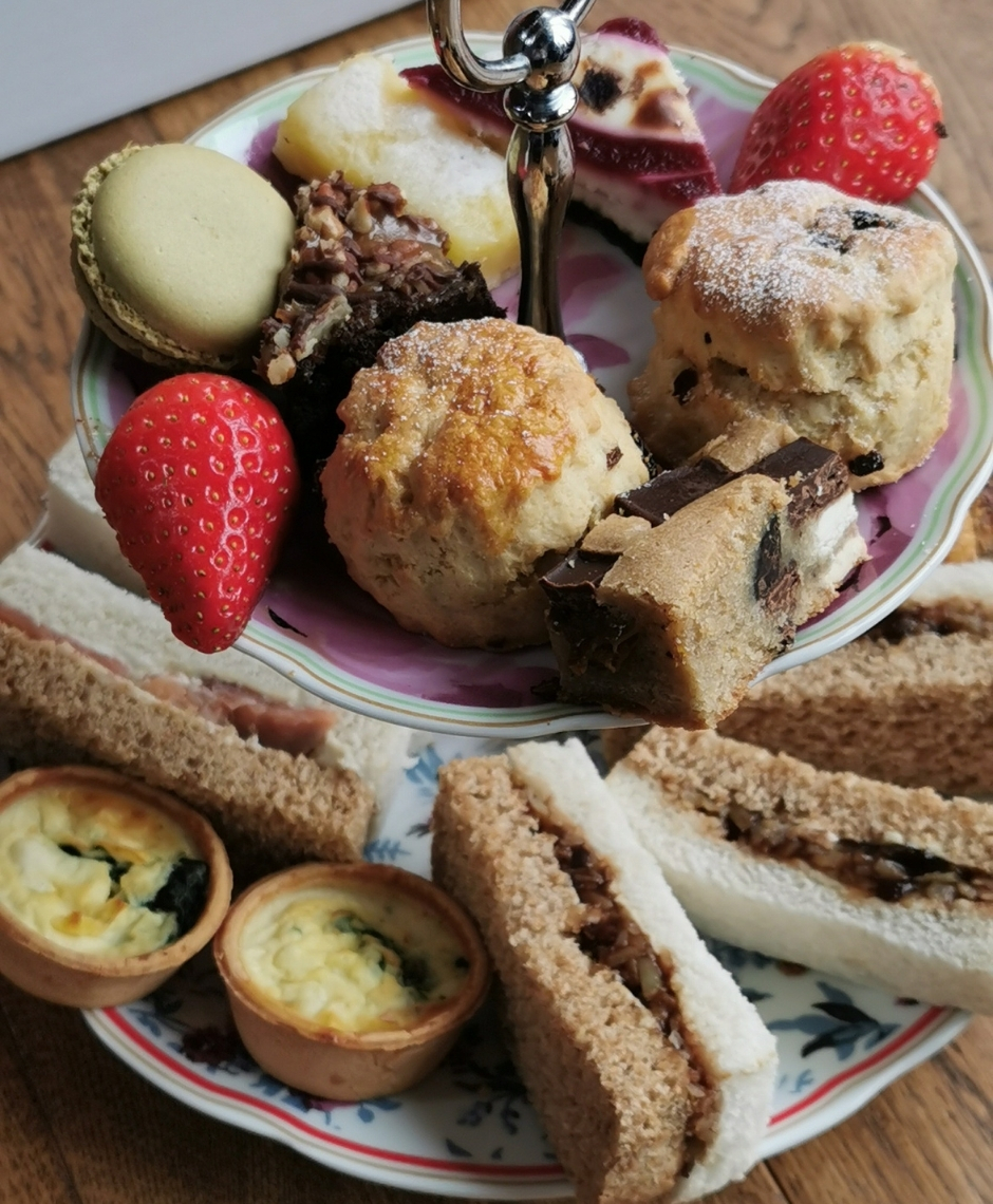 Afternoon tea from Stokes Coffee Lincoln