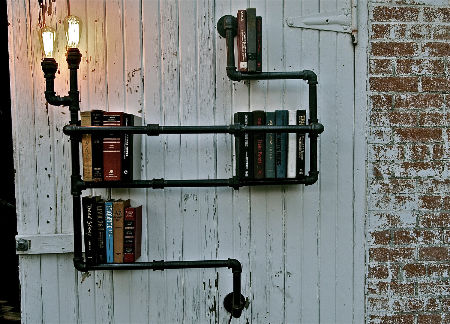 Decorative Industrial Shelving The Collectionaire Pipe Dreams With Stella Bleu Designs