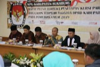 KPU Sukabumi: Gerindra Raih 9 Kursi DPRD Sukabumi