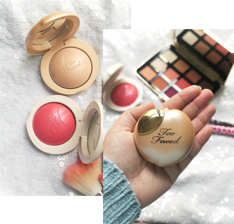 blog beauté concours maquillage too faced peaches and cream souchka