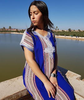 الوان القفطان المغربي